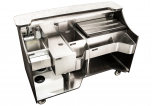 """Signature Series Mobile Bar - 66"""" With Sink"""